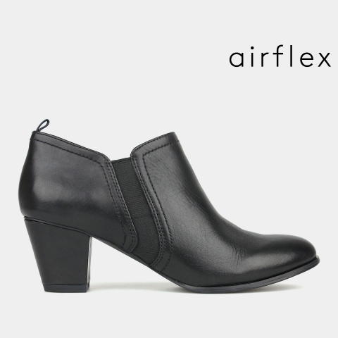 CARLY Leather Corporate Ankle Boots