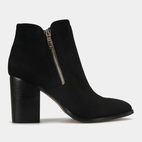 LAYLA Block Heel Ankle Boots