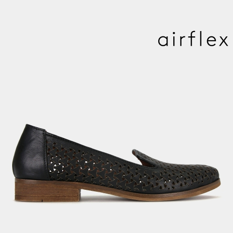 LINTON Leather Slip On Shoes