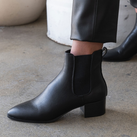 GRACE Mid Heel Ankle Boots