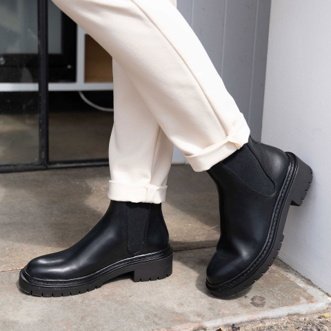 ADDY Chunky Ankle Boots