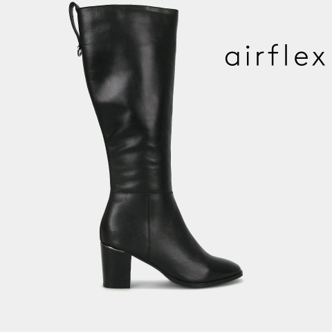 ERICA Leather Calf-Height Boots